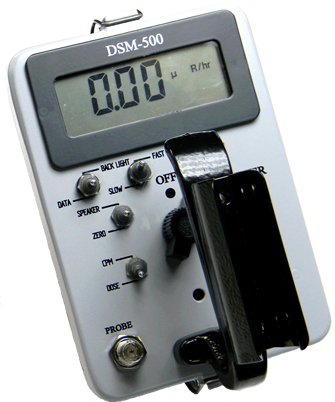 Johnson Nuclear DSM-500 Digital Survey Meter