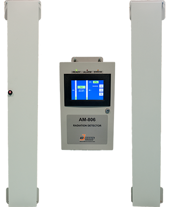 AM-806 Laundry and Trash Monitor for Radioactive Waste by WB Johnson