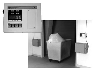 Ludlum 375-30 Waste Monitor