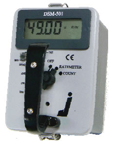 WB Johnson DSM-501 Digital Micro R Survey meter