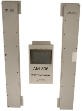 AM-806 Radioactive Waste and Laundry Monitor