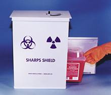 Sharps Container Shields