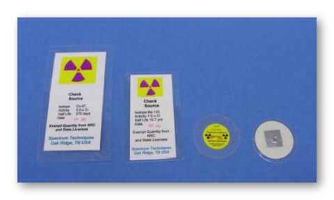 Laminated Radiation Sources by Spectrum Techniques