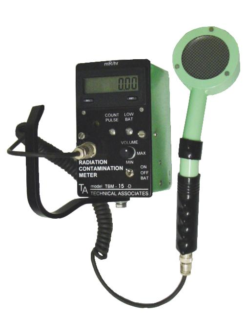 TBM-15D Digital Frisker / Survey meter