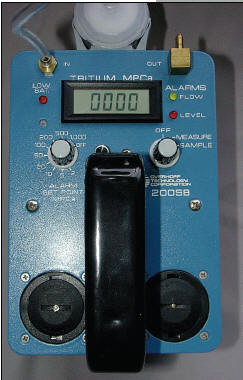Model 200-SB Tritium Detection Survey meter by Overhoff Technologies