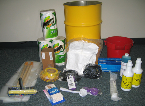 Rad Con Radiation Decontamination Kit